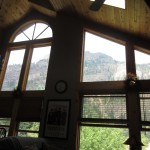 view from the Ouray rental house