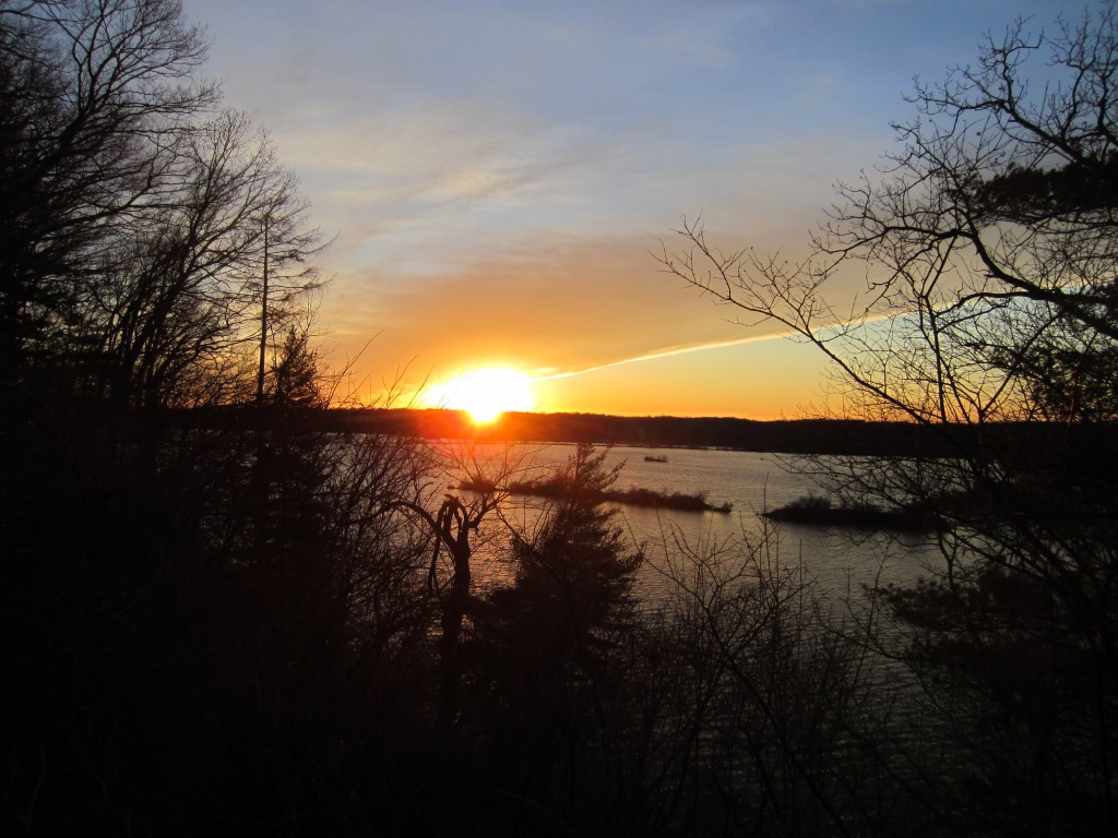 Eagle Creek Bird Sanctuary Sunset