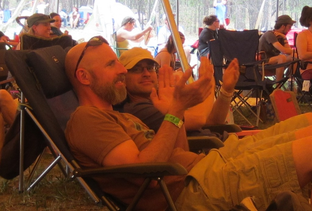 Chris and Andy at MeadowGrass