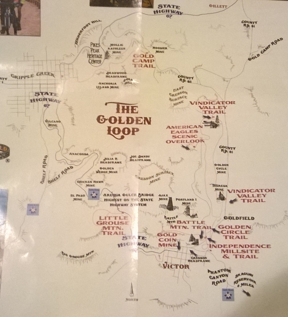 The Golden Loop Map