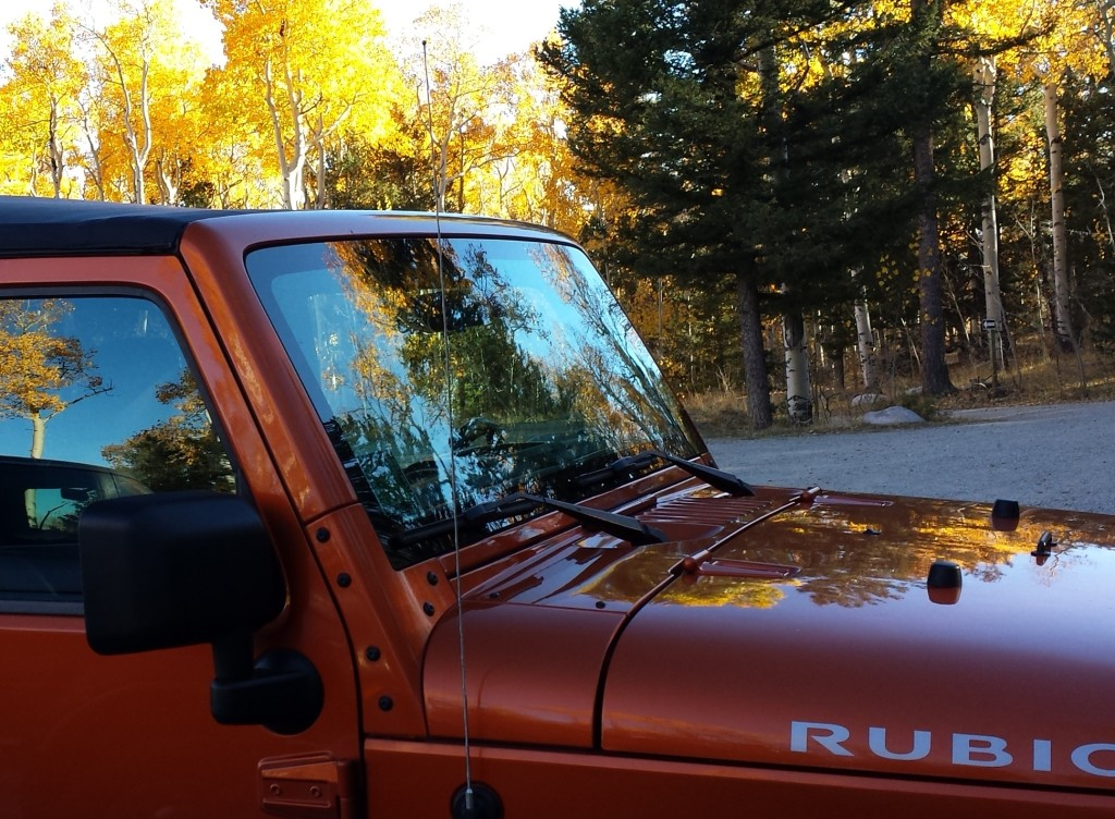 Jeep at Trailhead